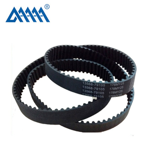 Standard 1 005 824 teeth shape Rubber car parts Timing Belt